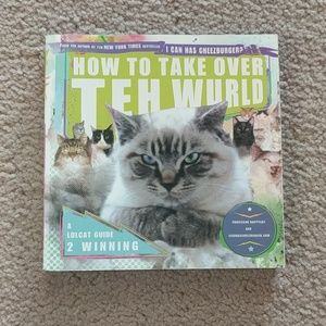 How to Take Over Teh Wurld LOL Cat Book